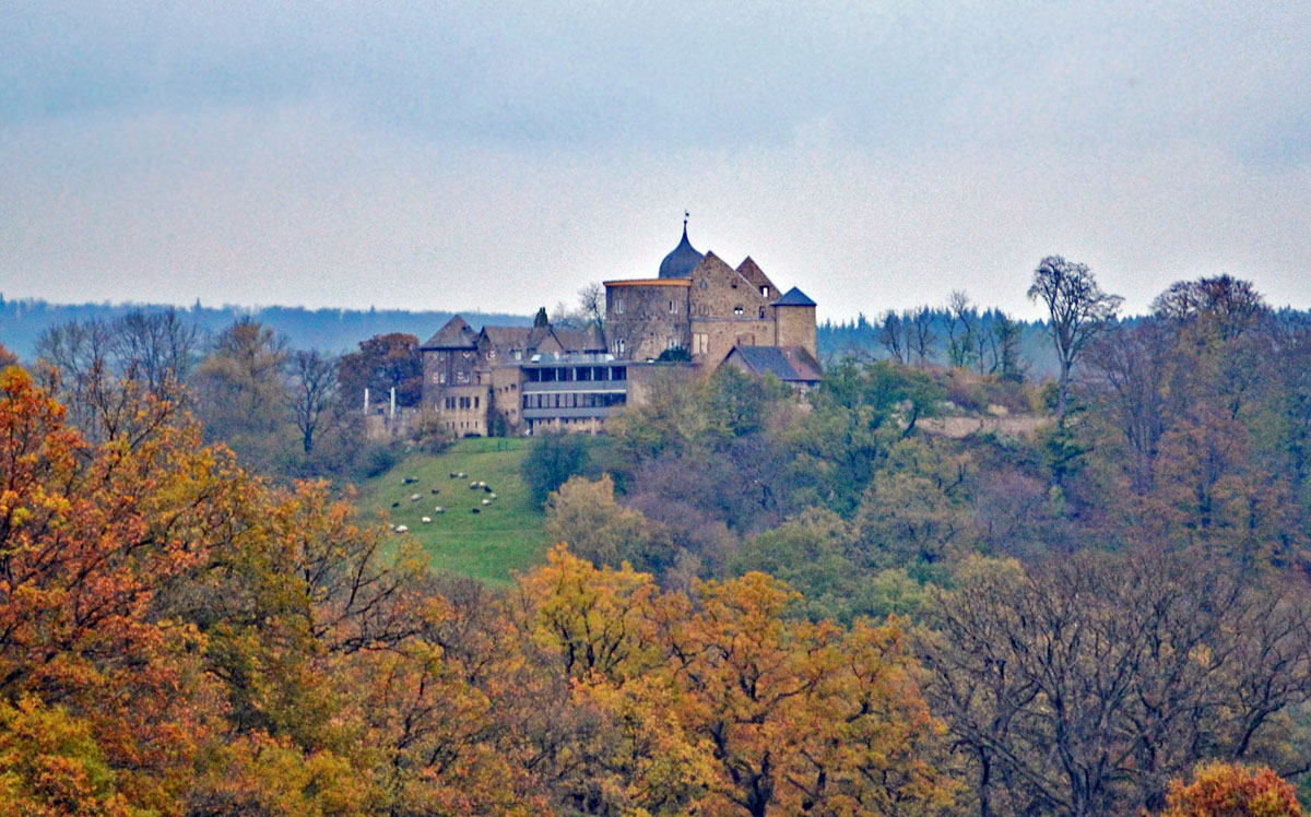 Sababurg in Reinhardswald (Hofgeismar, Germany): Sleeping Beauty's Castle