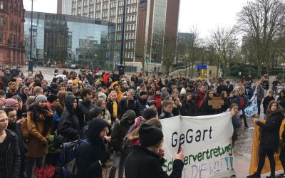 International #FridaysForFuture Demo: The Day the Students Spoke