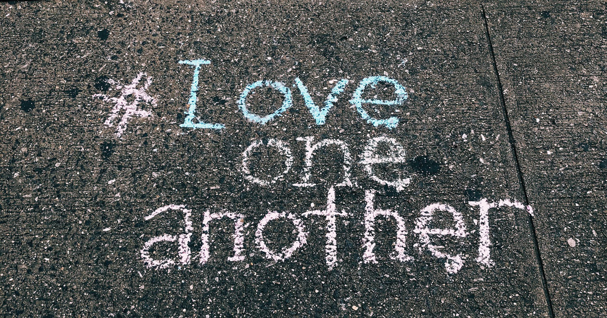 Love one another: Message from Mister Rogers